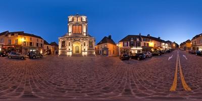 Place de l'Eglise — Montfort l'Amaury