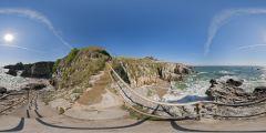 Le Pouliguen - escalier Grande Côte