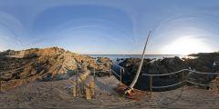 Le Pouliguen - pointe Penchâteau - pêcheurs