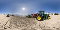 Tracteurs plage du Pouliguen