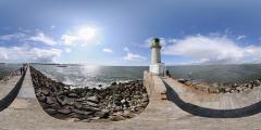 Le Croisic - Jetée et phare
