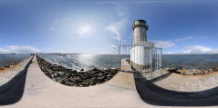 Le Croisic - jetée et phare II