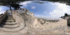 Le Pouliguen - plage vers l'Anse de Toullain