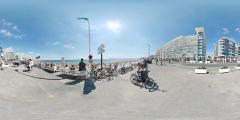 La Baule - remblais et plage avenue de Gaulle