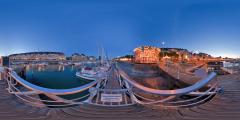 Le Pouliguen - port nuit I