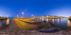 Port du Croisic de nuit