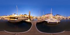 Port du Pouliguen de nuit