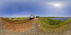 Le Pouliguen - TGV dans les marais