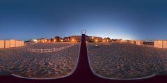 Le Pouliguen - plage toboggan nuit 1