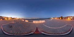 Le Pouliguen - plage toboggan nuit