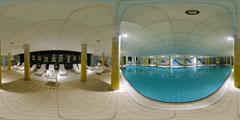 Salins-Les-Bains- Grand Hôtel des Bains - piscine