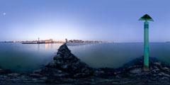La Baule - entrée du port