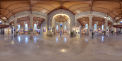 Exposition 360% Christian Braut Chapelle Sainte-Anne La Baule
