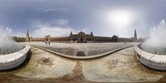 Séville - place d'Espagne - 2