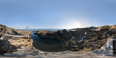 Pointe de Penchâteau - Le Pouliguen - plate-forme pêcheurs