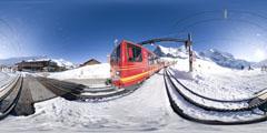 Kleine Scheidegg - trains 1/2