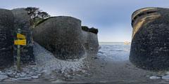 Le Pouliguen - la roche aux mouettes