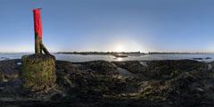 Port La Baule - Le Pouliguen - balise rouge