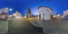 Le Pouliguen - Eglise de nuit