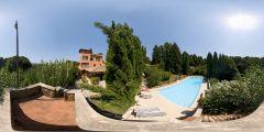 Villa Toscane - extérieur et piscine