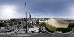 Pouliguen — vue du haut de la mairie