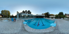 Ile de la Grenouillère - piscine