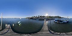 Cap Ferret - village de pêcheurs - jetée 1