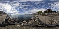 Montreux - promenade au bord du lac
