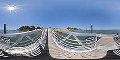 Cap Ferret - ponton La Vigne