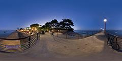 Cap Ferret - jetée Bélisaire nuit 1