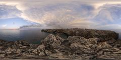 Minorque - Cala Blanca - sunset