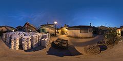 Cap Ferret - Canon huitres nuit