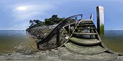 Cap Ferret - escalier La Vigne - avenue du Chasselas - 2