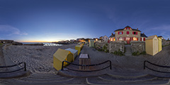 Batz-sur-Mer - plage Saint-Michel au coucher du soleil