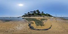 Cap Ferret - Plage de La Vigne à marée basse