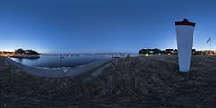 Cap Ferret - Port phare Vigne nuit