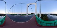 La Roche Bernard depuis le pont suspendu