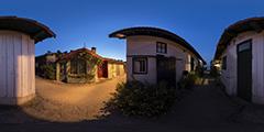 Cap Ferret - Village Canon nuit 1 2013