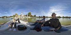 Madrid — Retiro — promenade en barque