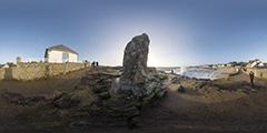 Batz-sur-Mer — Jetée Saint-Michel sous les vagues