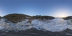 Pouliguen — Baie du Guec sous l'écume