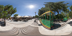 Cap Ferret — petit train — Bélisaire