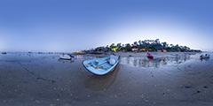 Lège Cap Ferret — plage de l'Herbe — nuit
