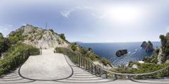 Capri — above Faraglioni