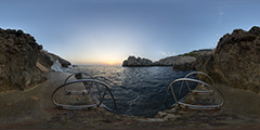 Capri — Faro sunset 1