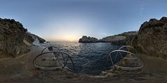 Capri — Faro sunset 1
