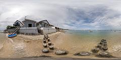 Cap Ferret — maisons plage de l'Herbe