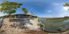 Cap Ferret — île aux Oiseaux — maison 1