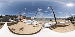Cap Ferret — catamaran plage de l'Herbe