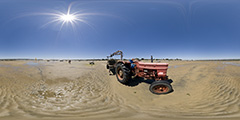 Cap Ferret — tracteur 2